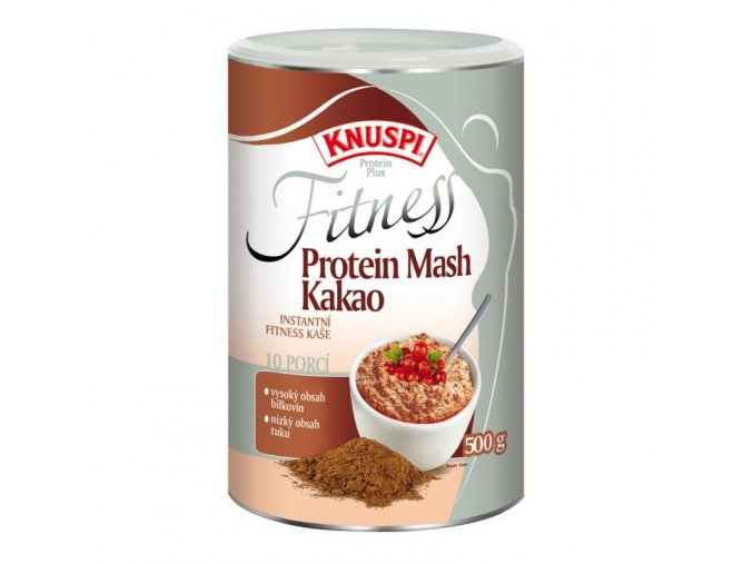 Knuspi Fitness Protein Mash kakao 500 g EXPIRACE 23.04.2019