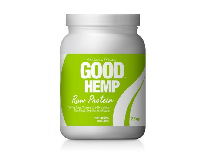 Good Hemp Protein Natural RAW 2,5kg