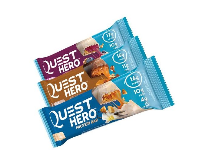 Quest Hero Protein BarTry all large