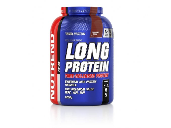 nut long protein 2250g chocolate cocao