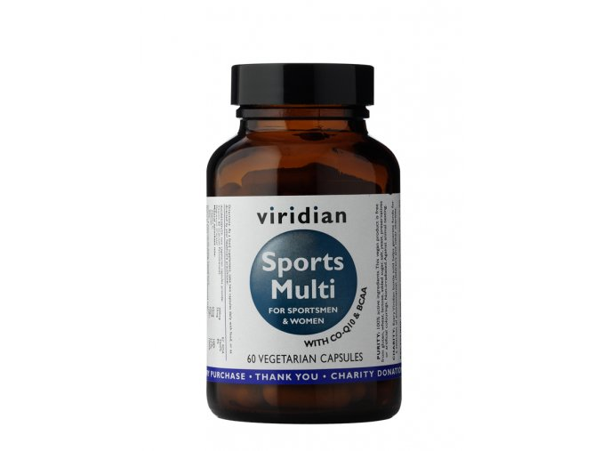 Viridian Nutrition Sports Multi 60 kapslí