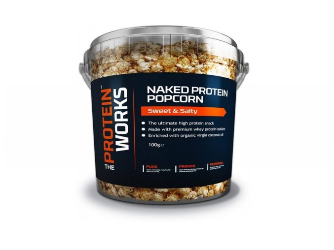 TPW NAKED PROTEIN POPCORN 100G
