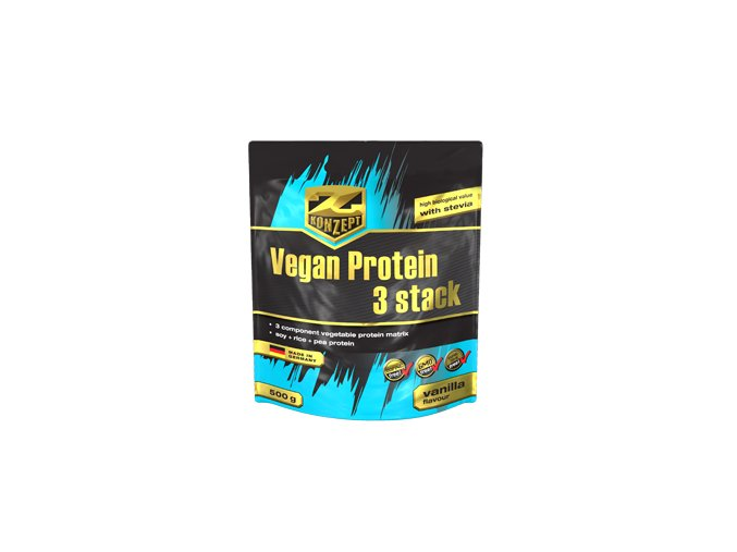 Vegan Protein 3 Stack 500g vanilka