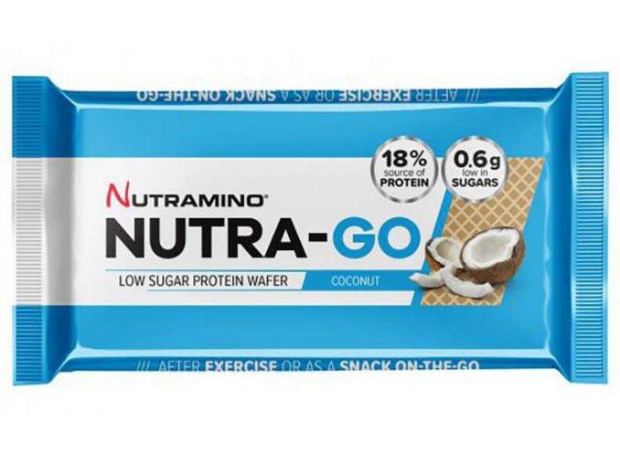 nutramino nutra go protein wafer