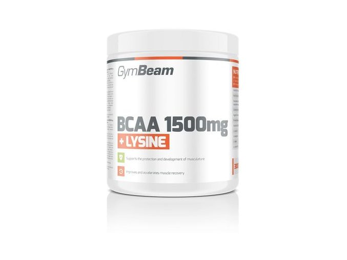 gymbeam bcaa 1500 lysin