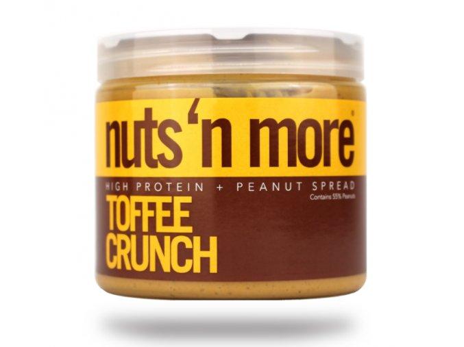 Nuts 'N More Arašídové máslo toffee s proteinem EXPIRACE 04.11.2017