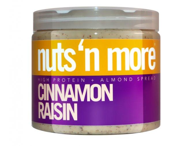 Nuts 'N More Mandlové máslo skořice - rozinka s proteinem