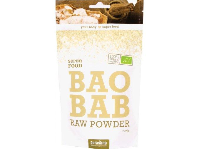 Purasana Baobab Powder BIO 200g