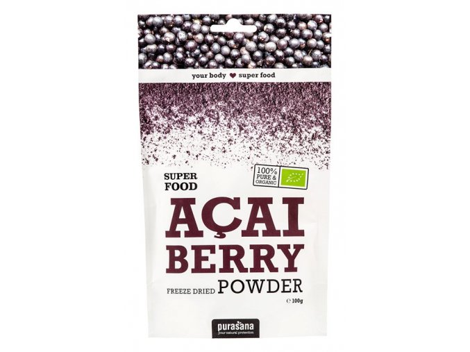 Purasana Acai Berry Powder BIO 100g