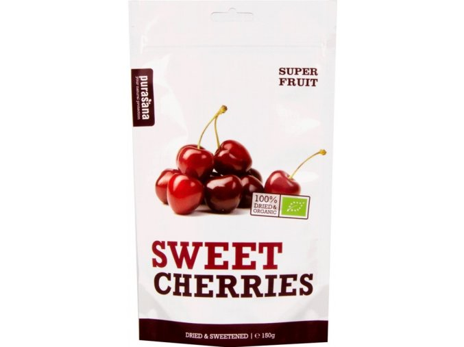Purasana Sweet Cherries BIO 150g