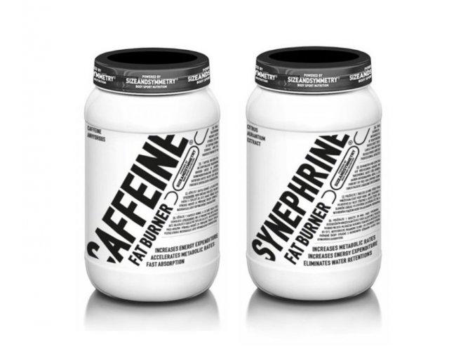 SizeAndSymmetry Nutrition Caffeine 60 kapslí + Synephrine 100 tablet