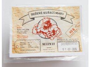 MEATWAY - sušené kuřecí maso