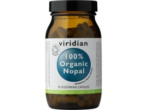 Viridian Nutrition 100% Organic Nopal 90kapslí