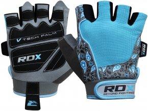 RDX Amara Fitness rukavice - Modré