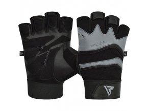 RDX S15 Fitness rukavice - Sivé