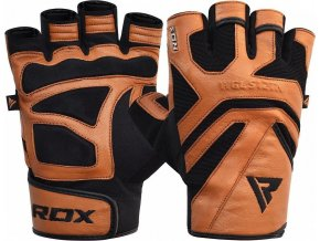 RDX Gym Weight Lifting S12 TAN Rukavice