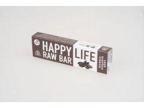 HAPPYLIFE Tyčinka mandľová s kakaovými bôbami BIO RAW 42g 1030x687