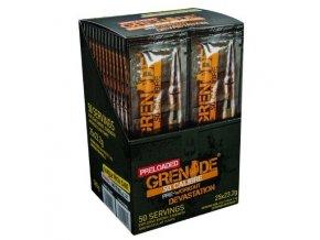 Grenade 50 CALIBRE 25 x 23,2g + 2 x blistr Grenade black OPS