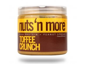 Nuts 'N More Arašídové máslo toffee s proteinem EXPIRACE 20.12.2018