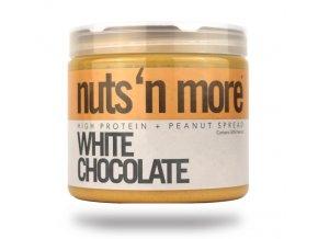 Nuts 'N More Arašídové máslo bílá čokoláda s proteinem