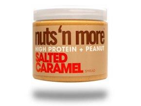 Nuts 'N More Arašídové máslo slaný karamel s proteinem