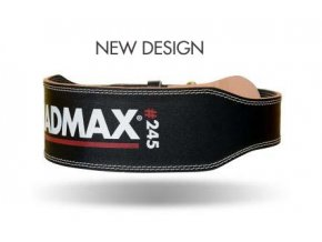 MadMax Full Leather Black