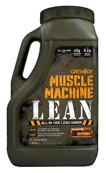 Grenade Muscle Machine Lean 1,84kg Balení: 2000g, Příchuť: Chocolate (čokoláda)
