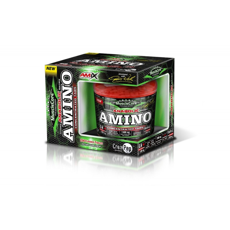 Amix Nutrition Amix Amino Tabs with CreaPep® Balení: 250 tablet
