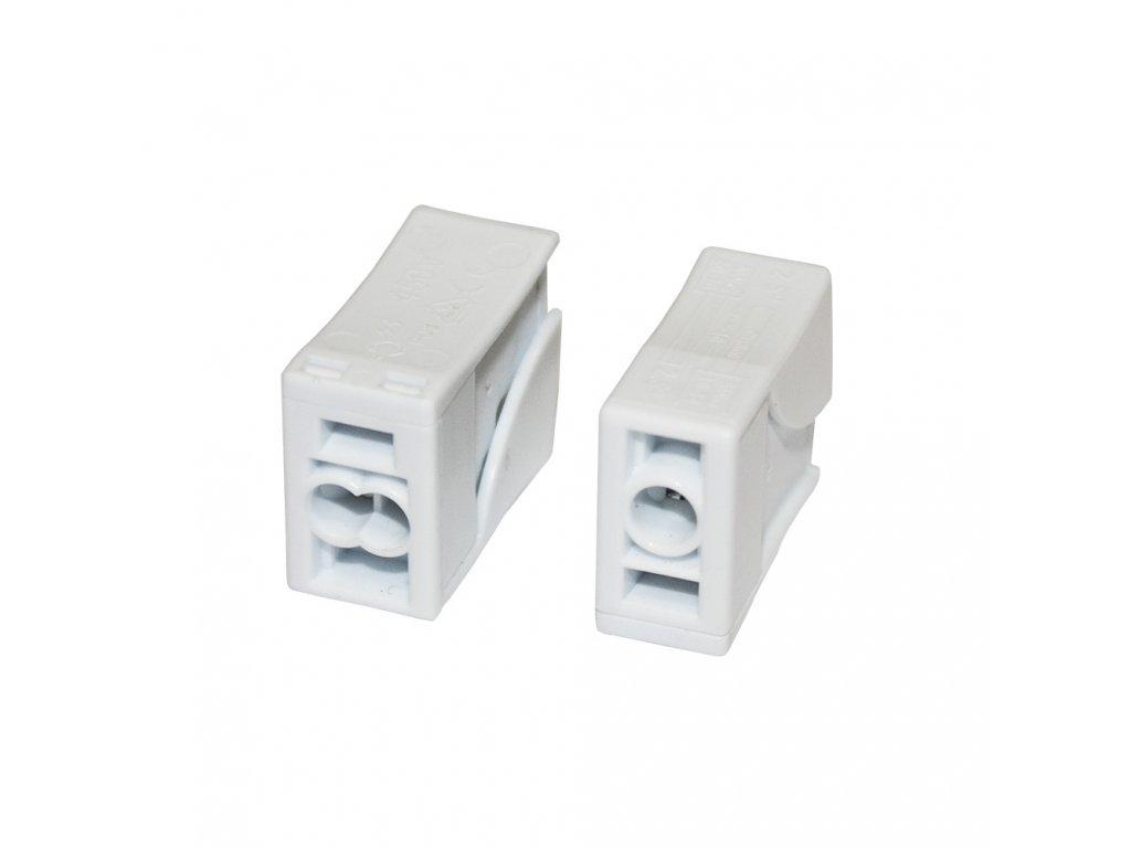 svítidlová svorka 2,5mm x 2  - 10ks