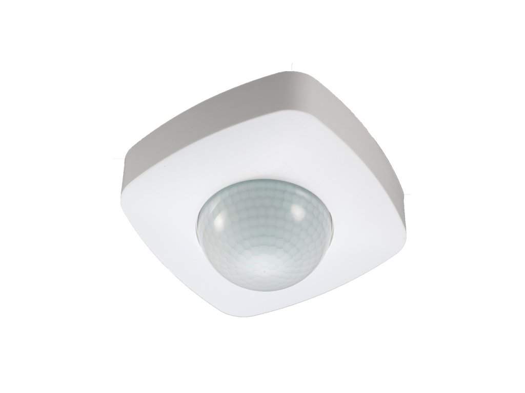 Pohybové čidlo PIR SES07WH 2000W 360° IP20 bílé