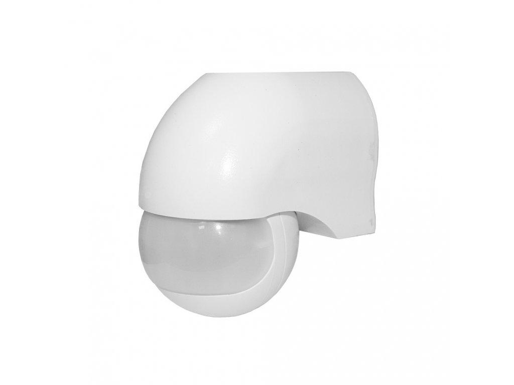 Pohybové čidlo PIR SES12WH 1200W 180° IP44 bílé
