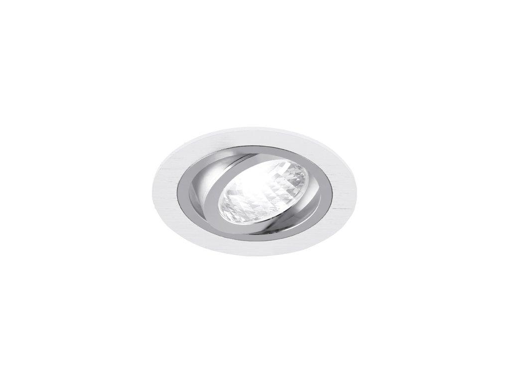 29975 bodove svitidlo alum c white chrome gu10 max 50w ip20 bila chrom