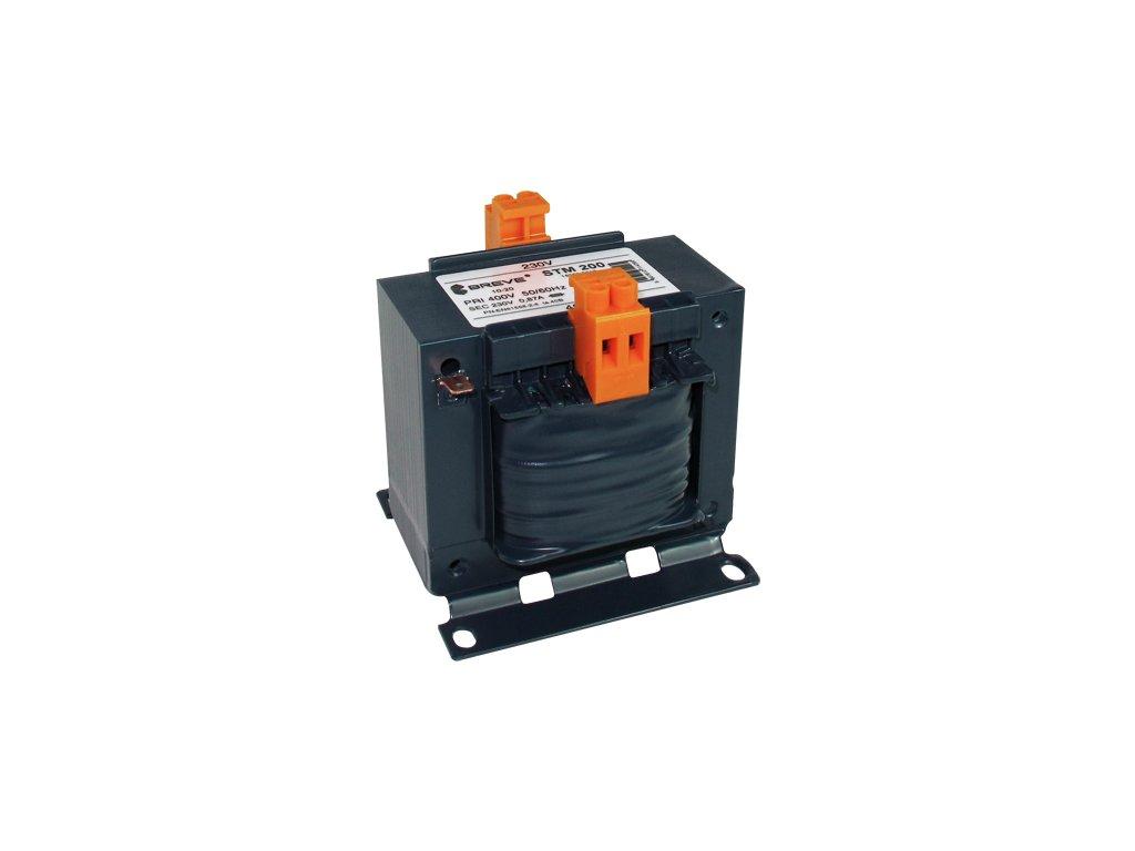30719 stm 200 230 24v transformator jednofazovy ip00