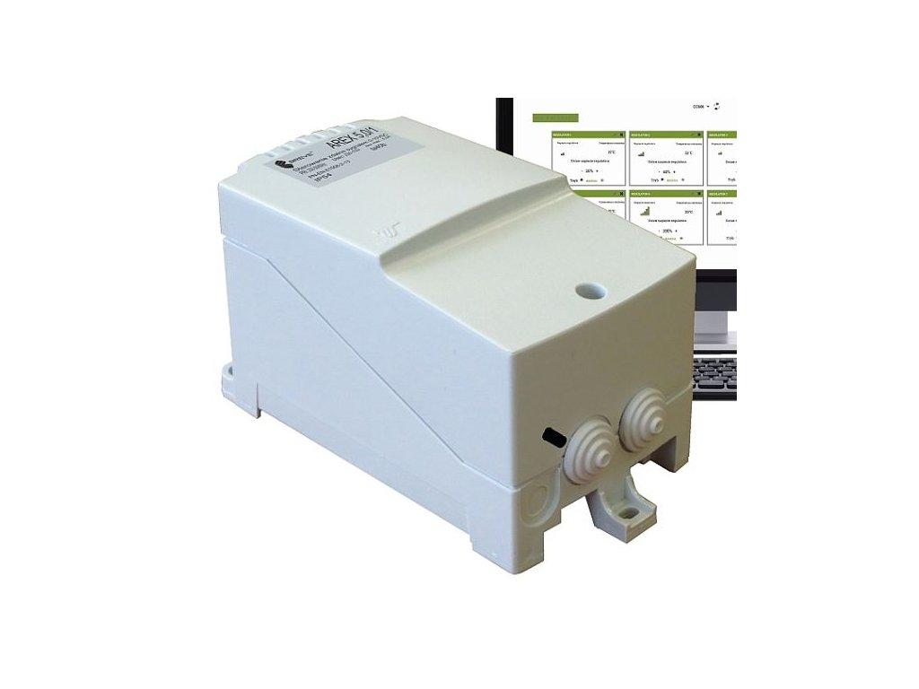 31322 arex 7 0 a elektronicky regulator otacek ventilatoru modbus
