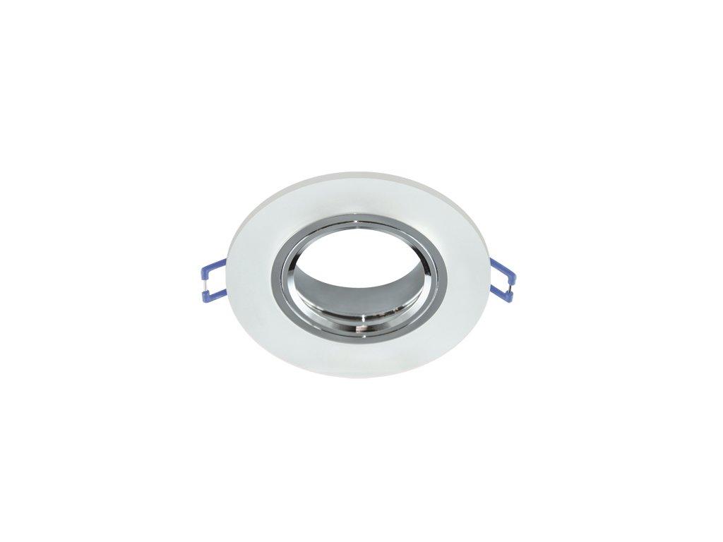 31476 ozdobny prsten selena c frosted gu10 mr16 max 35w ip20 sklo chrom