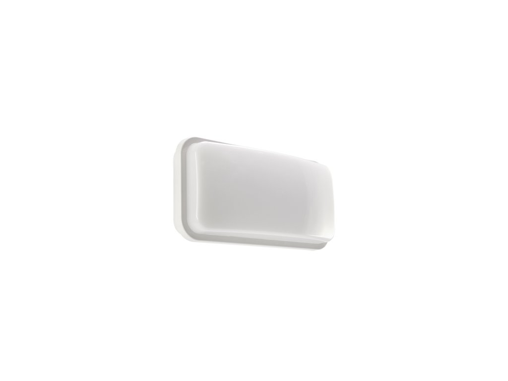 38933 nastenne svitidlo albin led 14w 1120lm 4000k ip55 white 236x120x68mm