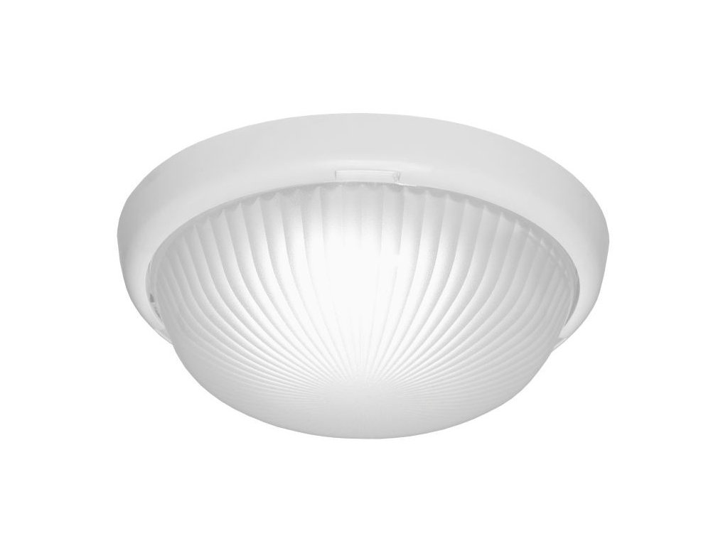 LED Přisazené svítidlo LUNA LED 920 lm 840 IP44 I kl. PRM bílý 240x85 7W DOB