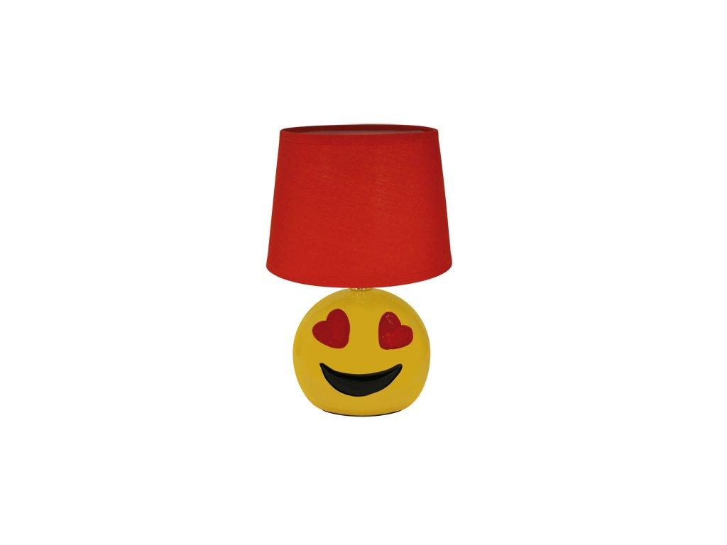 39887 stolni lampicka emo e14 red