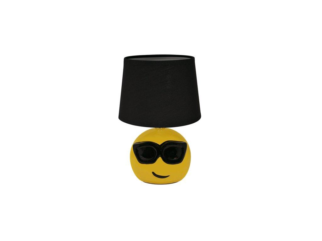 39890 stolni lampicka emo e14 black