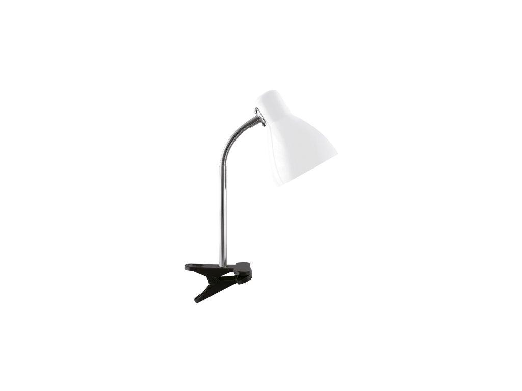 40634 stolni lampicka kati e27 white clip