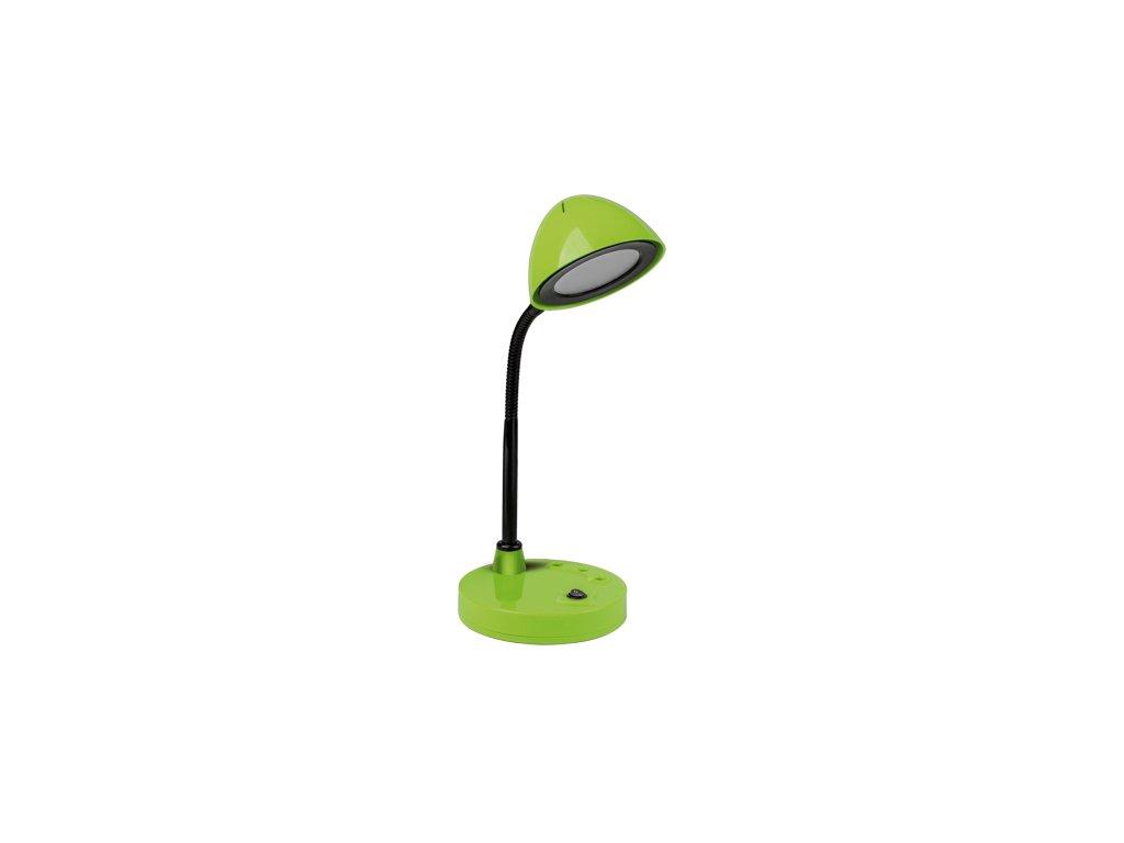 40670 stolni lampicka roni led green