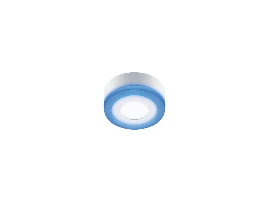 Downlight ALDEN LED C 3W+3W 270lm 4000K IP42 140° bílá