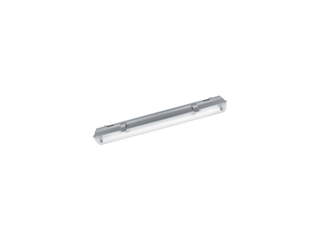 LED Prachotěsné svítidlo HERMAN LED 2x18W T8 60cm IP65 šedá