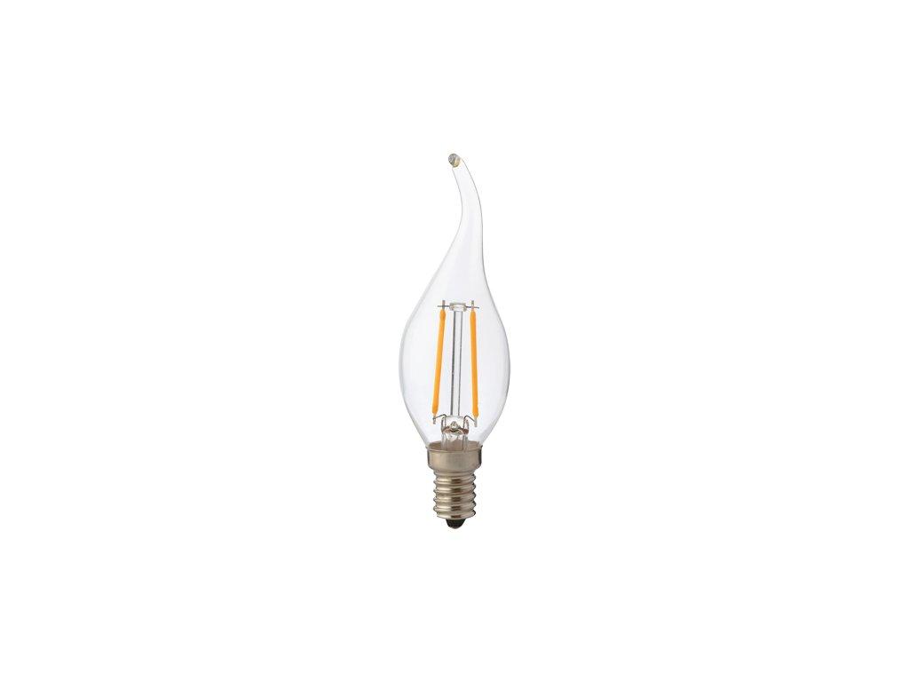 40832 svetelny zdroj filament led flame 2 4200k