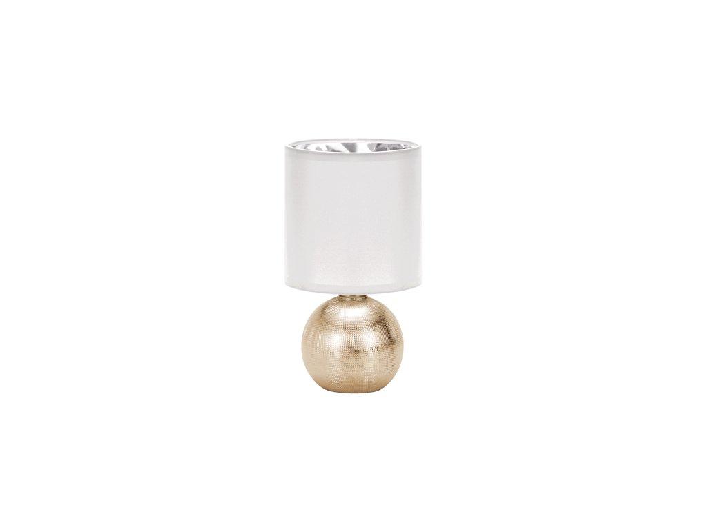 41417 stolni lampicka perlo e14 gold white