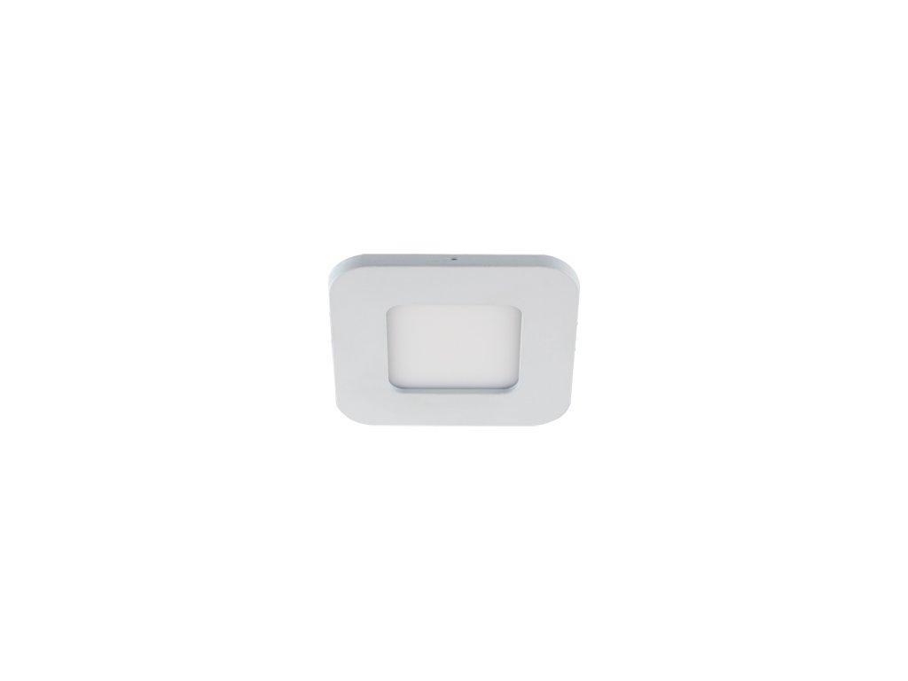 Downlight SLIM IRON LED D 3W 140lm 4000K IP20 120° bílá