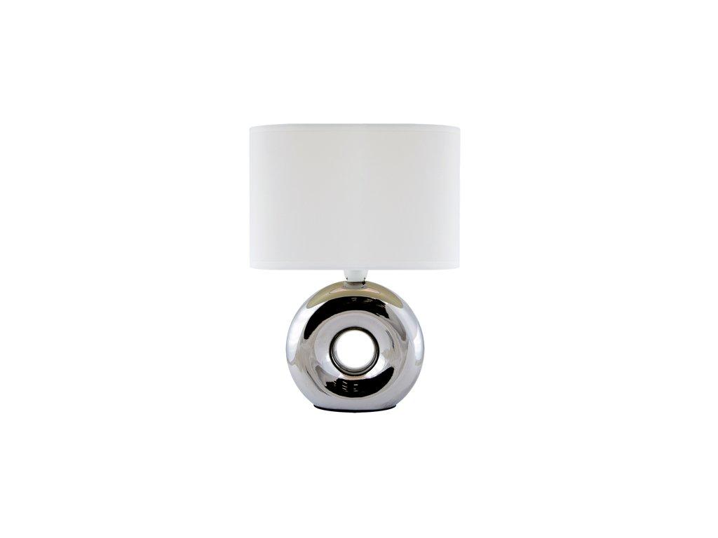41510 stolni lampicka golf e14 chrome white