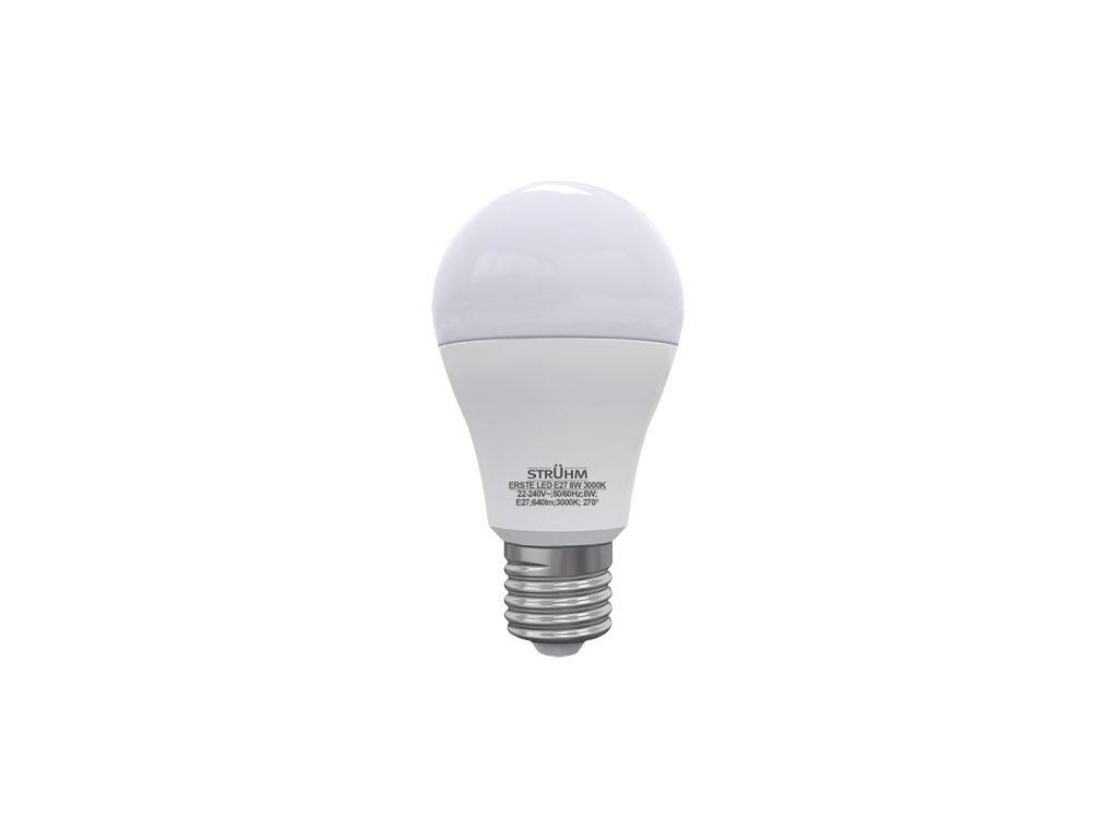 41687 svetelny zdroj erste led e27 8w 3000k