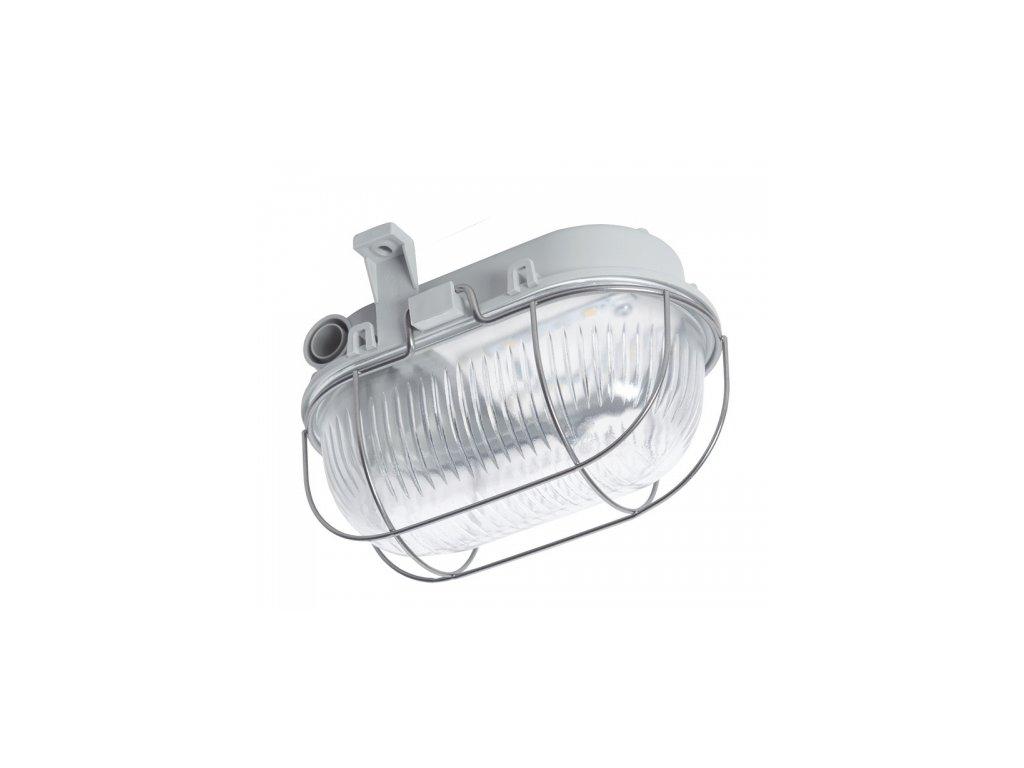 LED Přisazené svítidlo OVAL LED 3W SIMETAL šedá 4000K DOB
