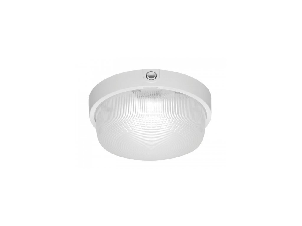 LED Přisazené svítidlo RONDO LED 920lm 840 IP44 I kl. PRM bílá (7W)235x100mm DOB